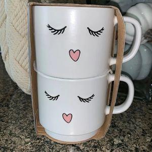 Woke up like this Eyelash Mug Set